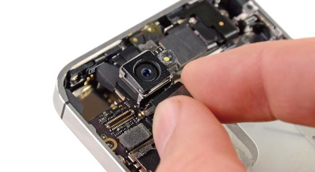 iPhoneのカメラ修理