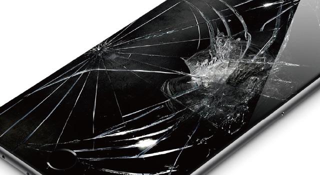 iPhoneの画面割れ